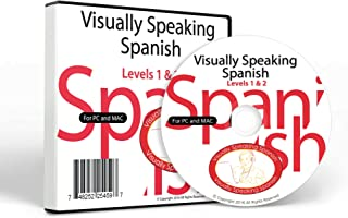 Visually Speaking Spanish Levels 1 and 2: Learn Spanish For Adults and Children For PC/Mac