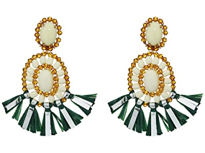 J.Crew Raffi Drop Earrings (Vintage Kelly) Earring