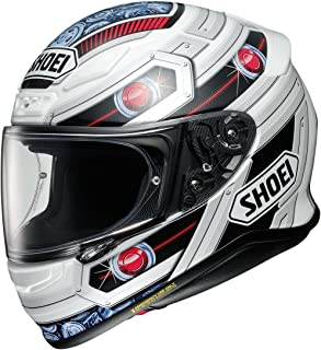 Shoei RF-1200 Full Face Motorcycle Helmet Trooper White/Red/Blue TC-10 Small (More Size Options)