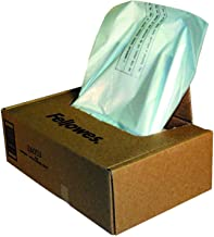 $46 » Fellowes Powershred Shredder Waste Bags, 100/Box, 36053, Lot of 1