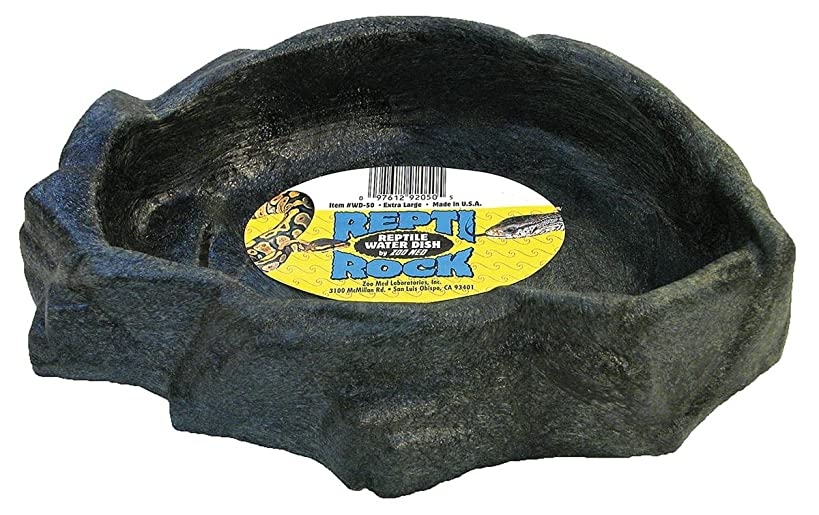 Zoo Med Reptile Rock Water Dish Color May Vary