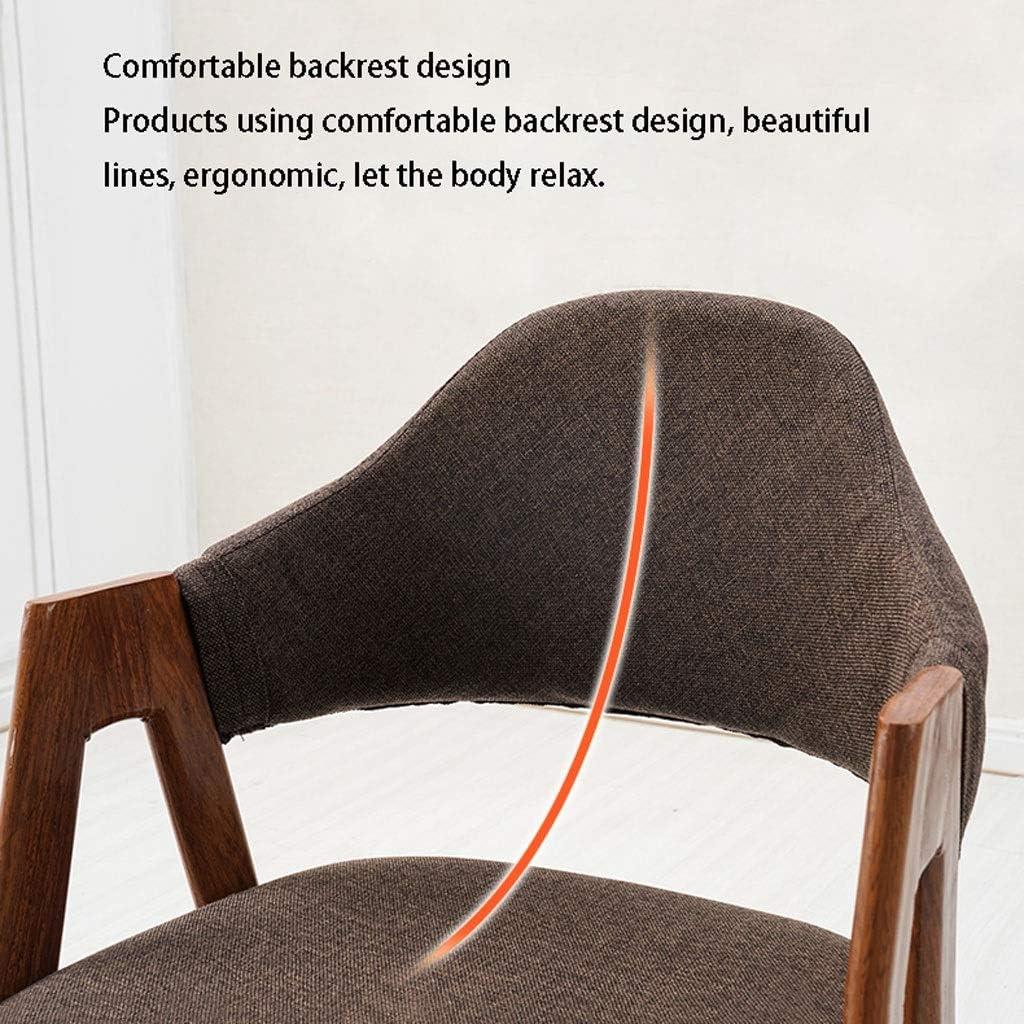 Chaise Nordic Style Moderne Minimaliste étudiant Fauteuil de Bureau Maquillage Ordinateur Tabouret Retour Accueil Nordic Dining Chair (Color : J) B
