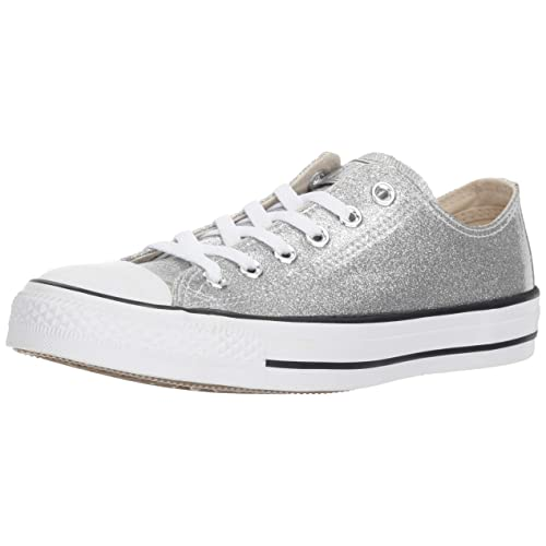 bf764f626fa72 Converse Women s Chuck Taylor All Star Glitter Canvas Low Top Sneaker