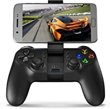 GameSir T1 Bluetooth Wireless Controller Android Gamepad, Wired USB PC Gaming Controller(Win 7/8/10), PS3 Controller