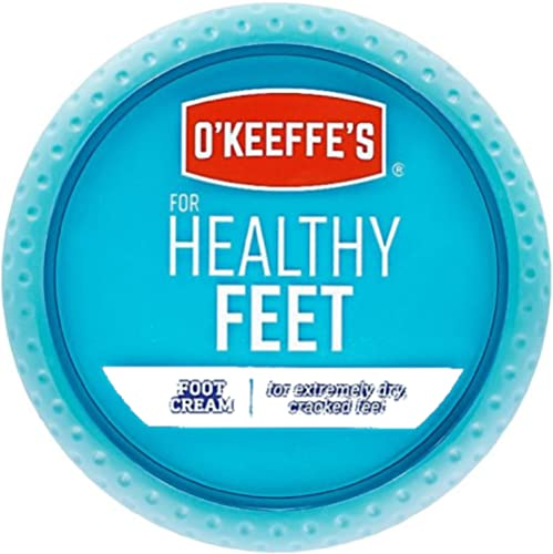 O'Keeffe's For Healthy Feet Daily Foot Cream, 2.7 oz (Pack of 4)
