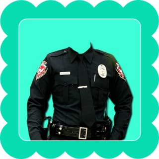 Police Suit Camera Photo Maker