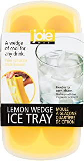 Joie Lemon Wedge Ice Tray Makes 12 Cubes Spillproof Lid