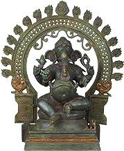 Chaturbhuja Ekadanta Ganesha - Brass Statue