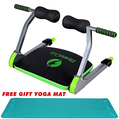 Fitnessclub AB Exercise Trainer Machine Fitness Equipment Body Exerciser Home Gym With Free Yoga Mat