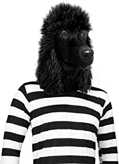 Off the Wall Toys Standard Poodle Mask Dog Halloween Costume Face Mask Kennel Club