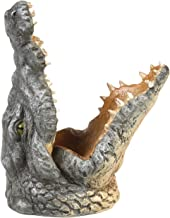 What On Earth Crocodile Mobile Phone Holder - Sculpted Resin Animal Shaped Cellphone Stand - 5.5