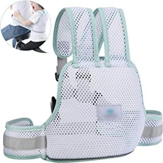 Childrens Motorcycle Safety Harness Breathable Mesh Adjustable Kids Safety Seat Strap Carrier for Bike Riding Reflective G...