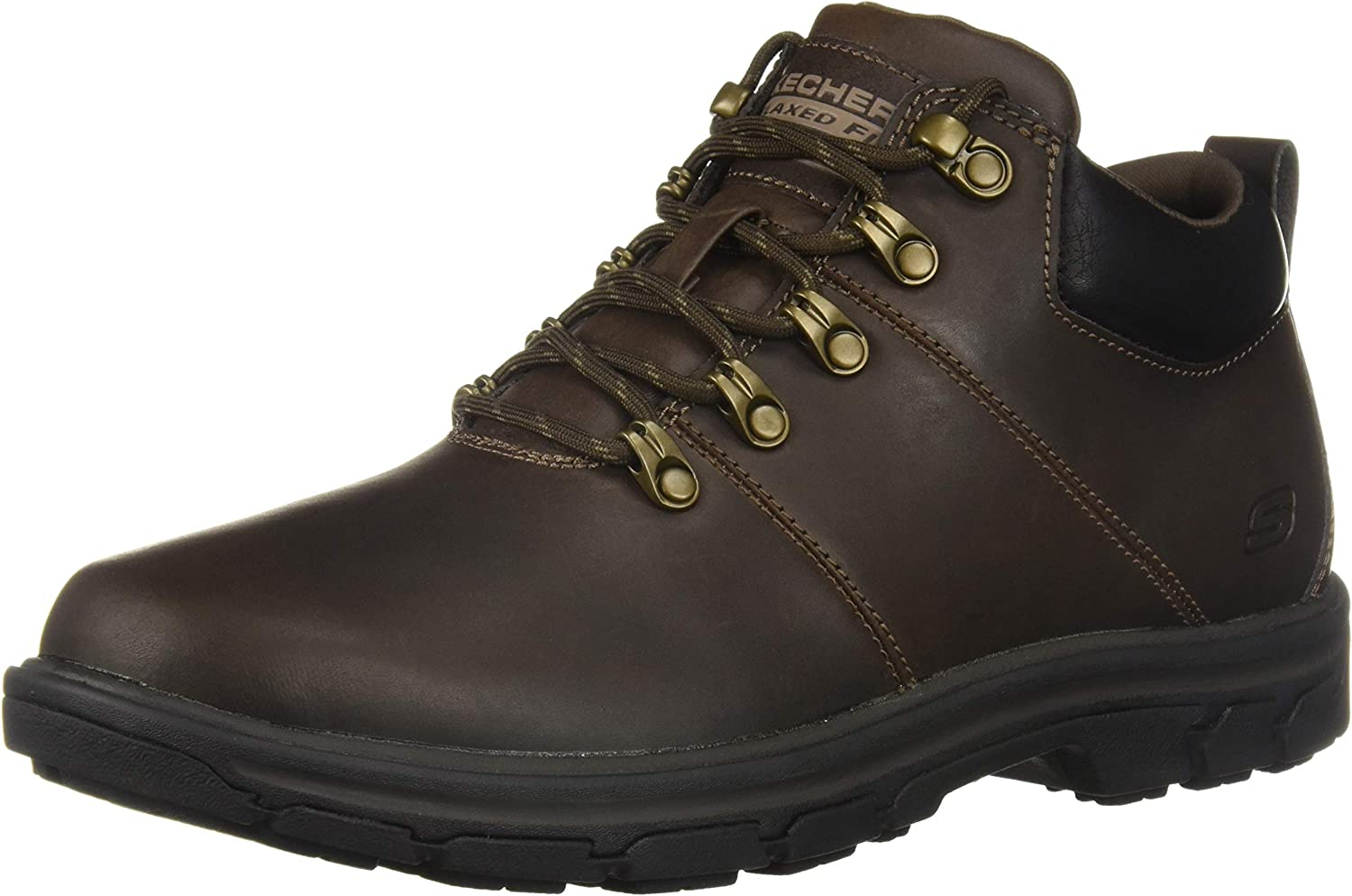 Skechers Hommes's SegHommest-VENARO Ankle démarrage, Chocolate, 7 Medium US