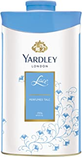 Yardley London Lace Perfumed Talc for Women, 250g