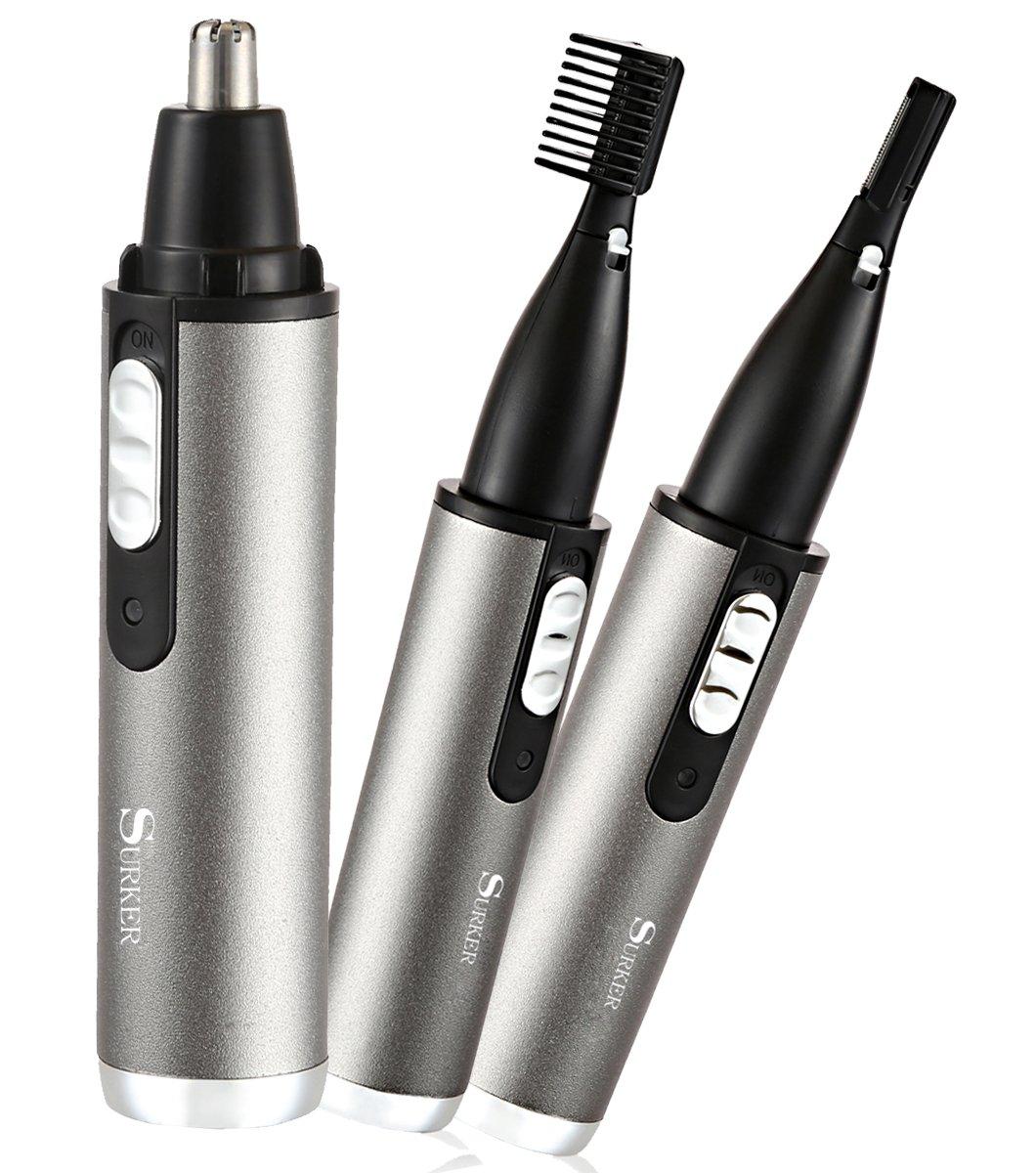 Afeitadora eléctrica batería Ric Peli nariz orejas basette Surker ...