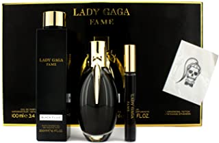 Lady Gaga Fame Black Fluid Fragrance Set