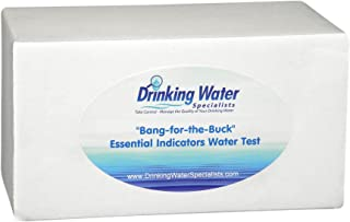 'Bang-for-the-Buck' Essential Indicators Water Test | Water Test Kit | Bacteria, Metals, Inorganics, Volatile Organic Compounds