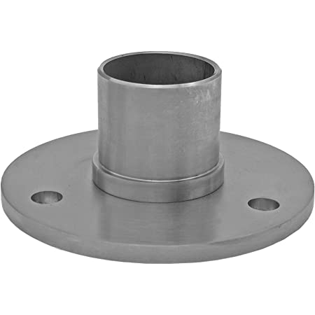 V2A Edelstahl Rohr rund Oberfl/äche geschliffen Korn 240 L/änge 100 mm Abmessungen /Ø 26,9mm x 2,0mm