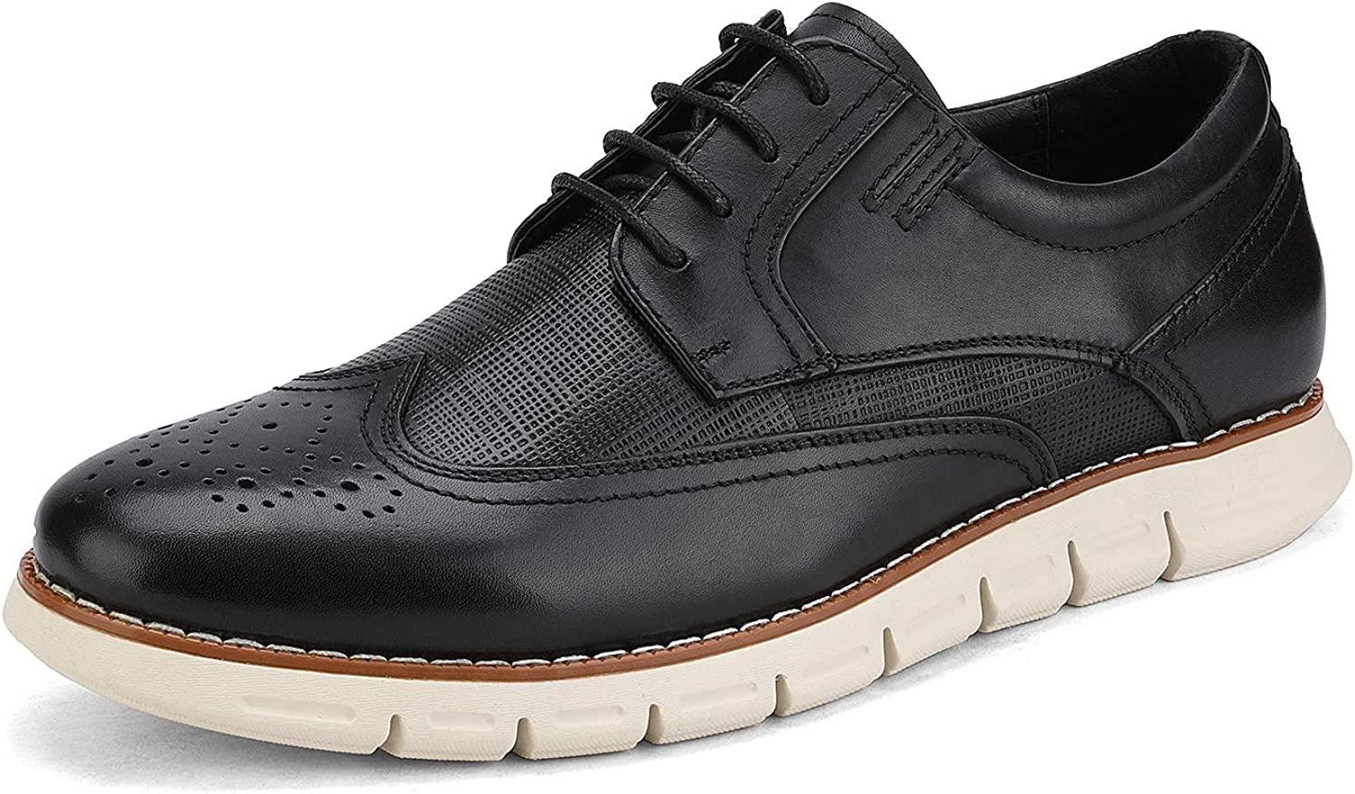 Branded goods Bruno Marc Men's Oxford 5 popular Dress Sneakers Casual Shoe Leather
