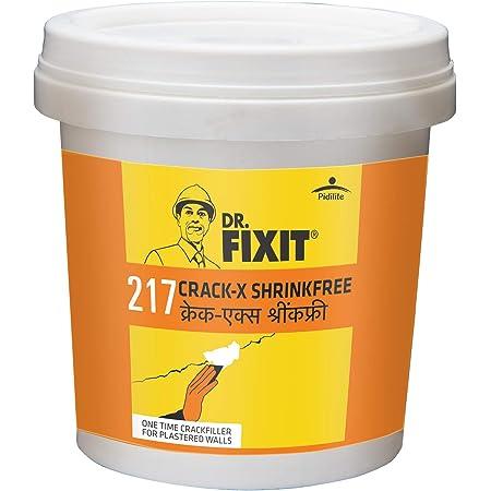 Dr.Fixit 217 Crack X Shrink Free Crack Filler for Crack-free Plastered Walls - 750ml