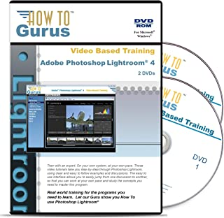 How to Use Adobe Photoshop Lightroom 4, Tutorial Training on 2 DVDs, 10 Hours in 223 Computer Video Lessons