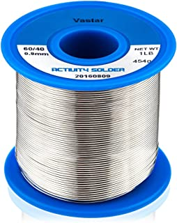 Vastar 454G Activity Wire Solder 60/40 (60% Tin, 40% Lead