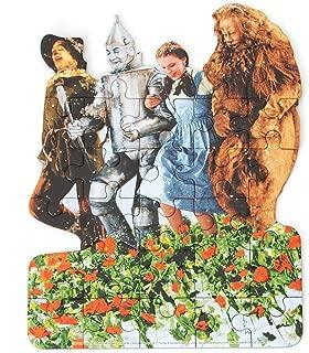 Playhouse Wizard of Oz Poppy Fields 26-Piece Die Cut Shaped Mini Puzzle for Kids