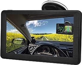 Navegación GPS para coche, 7 pulgadas HD pantalla táctil navegación de transmisión de voz, carga superior mapa de América del Norte contiene (USA, Canadá, México Mapa) Actualizaciones gratuitas