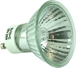 ESSENZA Wax Warmer Halogen Replacement Bulb – 120v AC, 60Hz, 25W/ GU10+C/GZ10+C