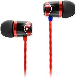 SoundMAGIC E10 Noise Isolating in-Ear Earphones (Red)