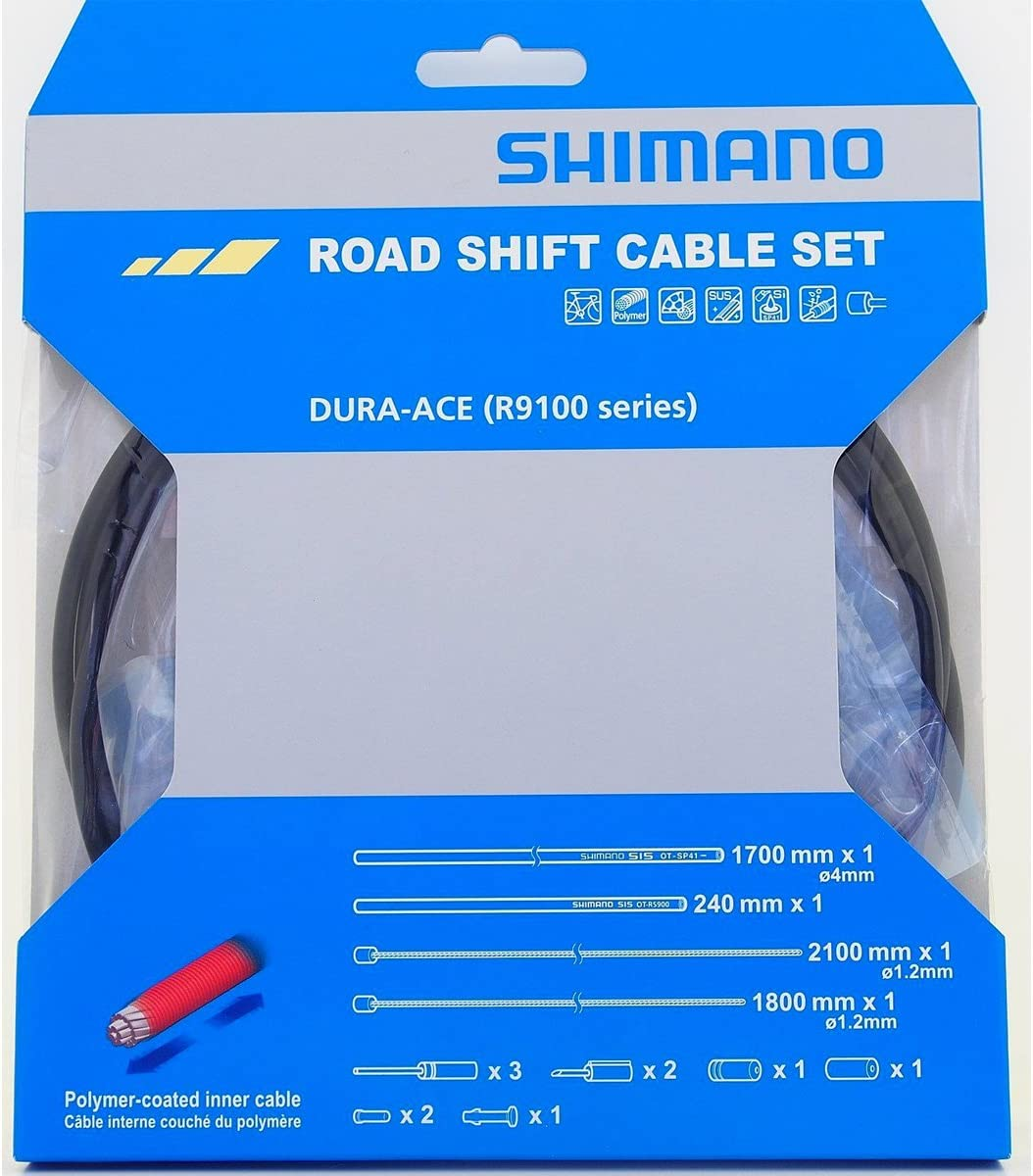 Shimano SP41 Gear Shift Outer Casing 4mm Cable BLACK Teflon lined Sold Per Metre