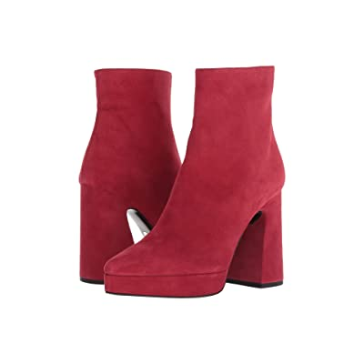 Proenza Schouler HG Bootie Plat (Medium Red) Women