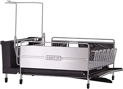 Sabatier-Expandable-Stainless-Steel-Dish-Rack