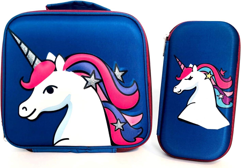 Rattlebox Insulated mart Unicorn Lunch Box Perfect - Award Sc for Girls