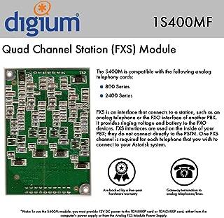 Digium 1S400MF Quad Channel Station (FXS) Module