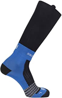 Salomon Standard Socks, black/Transcend Blue, M