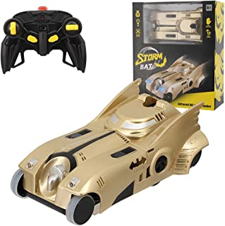 La moriposa 1:24 Electric RC Car Wall Climber Super Car Remote Control Car Vehicle Sport Racing Hobby Grade Licensed Model Car for Kids Adults(Gold)
