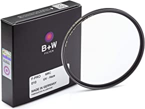 B + W 72mm UV Protection Filter (010) for Camera Lens – Standard Mount (F-PRO), MRC, 16 Layers Multi-Resistant Coating, Ph...