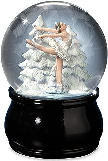 Elegant Swan Lake Ballet Water Globe by The San Francisco Music Box Company