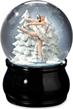 Elegant Swan Lake Ballet Water Globe by The San Francisco Music Box Company