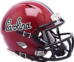 Riddell South Carolina Gamecocks Script Revolution Speed Mini Football Helmet - College Mini Helmets
