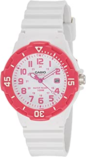 Casio Women's White Dial Resin Band Watch - LRW-200H-4B