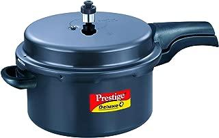 Best prestige deluxe hard anodized pressure cooker 7.5 ltr Reviews