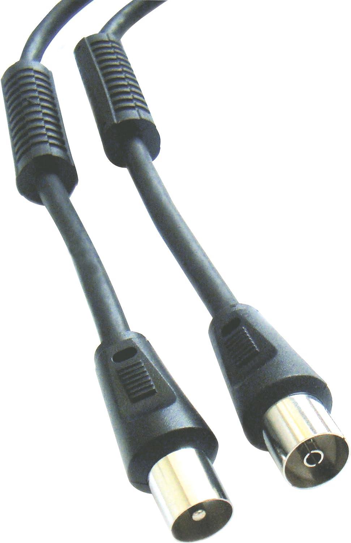 ELBE CA-106-ANT - Cable de antena de 1.5 m, color negro ...