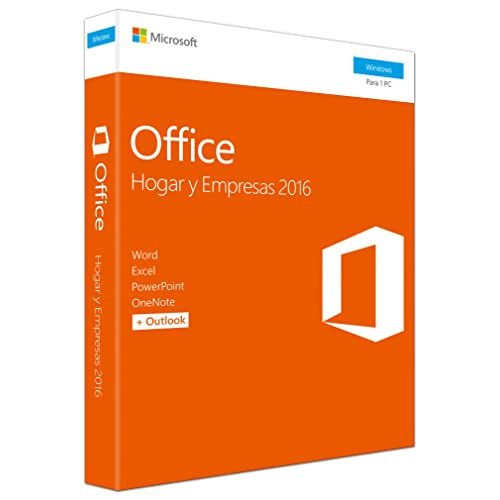 Microsoft Office Hogar y Empresas 2016 T5D-02899, 1 licencia para PC