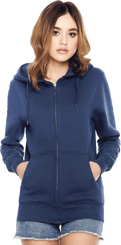 Under blast sales Product Zipper Hoodies for Women Women's 100% Cotton Zip Ho Organic Up