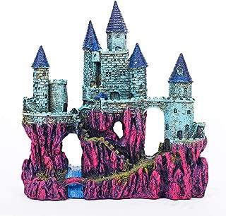 Miracliy Aquarium Decorations Castle, Aquarium Ornament Super Castle,10