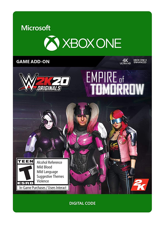 WWE 2K20 Originals: Empire of Tomorrow - Xbox Digital One Code specialty shop 5 ☆ popular