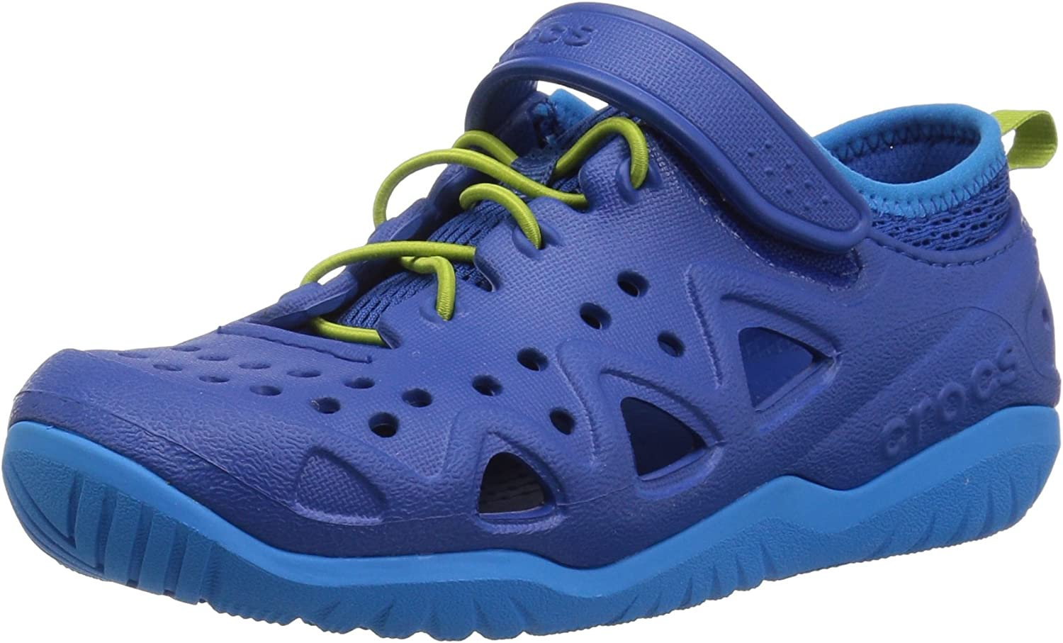 Crocs Safety and trust Unisex-Child Swiftwater Sneaker Shoe Choice Easy-on