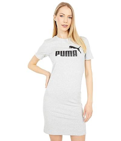 PUMA Essentials Slim T-Shirt Dress (Light Gray Heather) Women